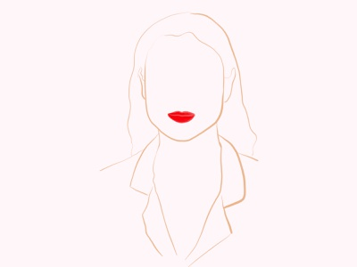 Illustration fineart ink lineart face fashion painting design illustration art illustration art paint sketch woman