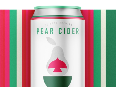 12 Days of Brewing :: A Partridge in a Pear Tree packaging cpg branding design