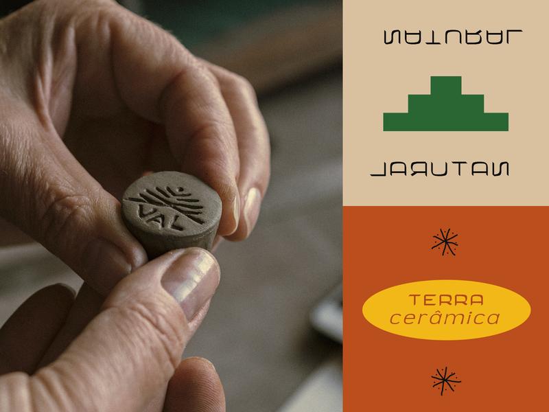 V A L Ceramics Style photography typography styleboard small business handmade ceramics branding brand identity