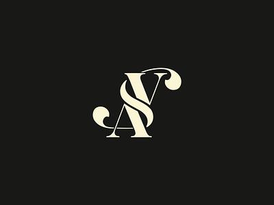 SVA type graphic design vector icon minimal branding illustration typography logo design