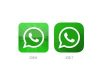 iOS 7 Whatsapp icon