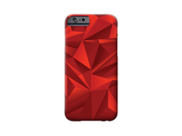 Red Triangle iPhone Case