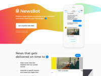 NewsBot - Curated news to your Messenger
