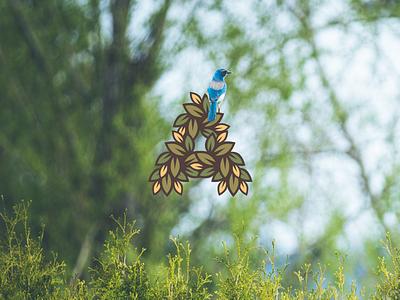 A for Ayurveda illustration plant logo crest badge leaf ayurveda ayurvedic nature vitality health herbal
