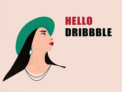regina hat inspiration art illustrator hellodribbble girl woman illustration vector design