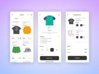 Clothing - Moblie App ux e-commerce figma