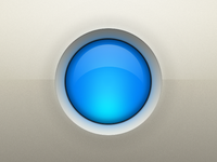 Glowing Indicator Button