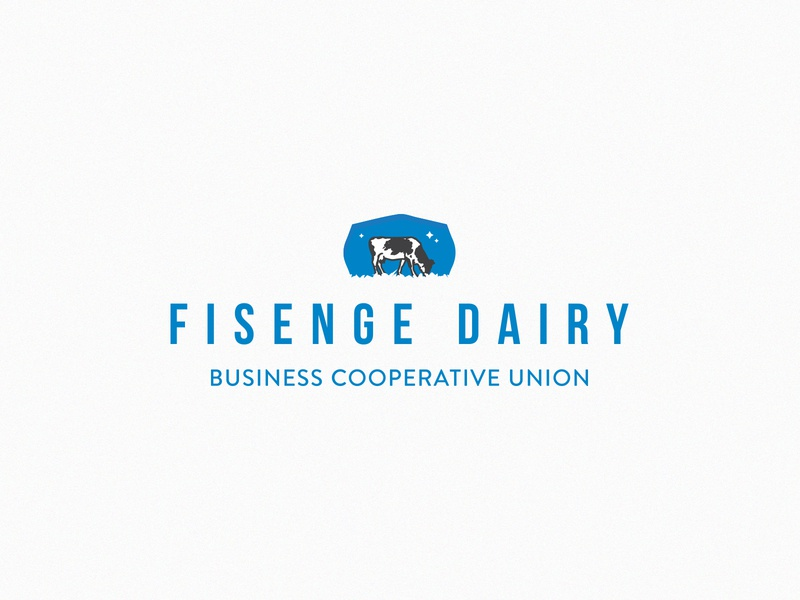 Fisenge Dairy Branding partners in food solutions pfs brand design african zambia identity milk dairy logo design logo branding