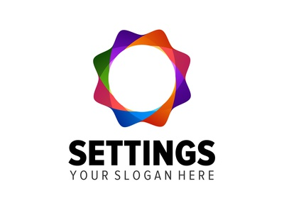 settings logo design