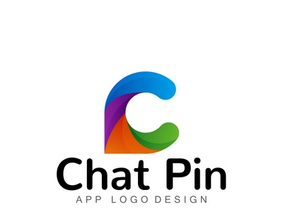 CHATPIN logo design