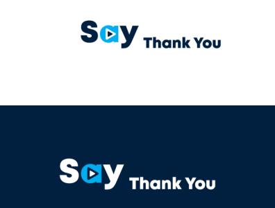 say thank you logo design