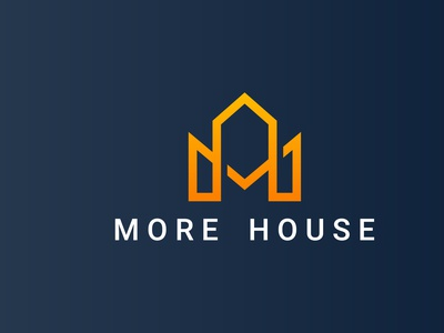 m letter real estate logo design for real project vector corporate branding concept company abstract creative logo business design