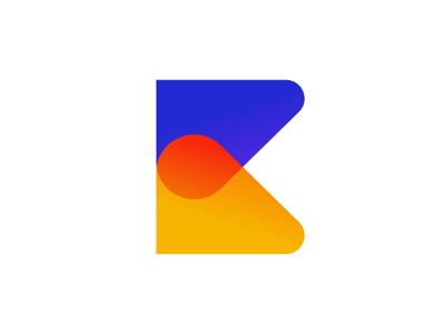 k letter logo icon vector creative flat abstract typography concept logo ui business design