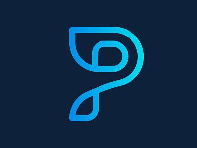 p letter logo design company abstract flat creative concept branding logo corporate business design