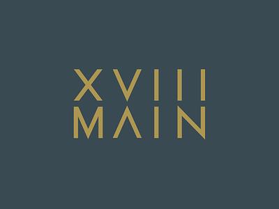 Logo Concept for Downtown Property branding design logo