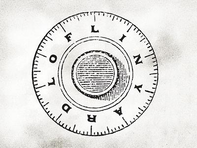 Loflin Yard Secondary Mark art direction branding design icon logo