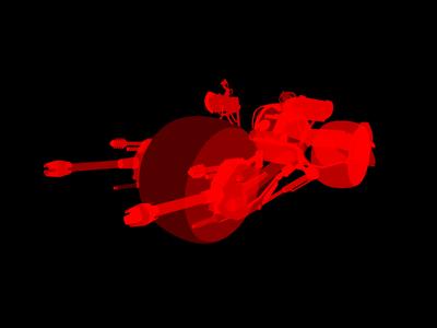 Batman Motorcycle Prototype