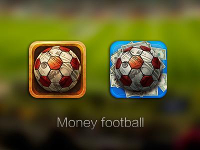 Icon fo app icon football money