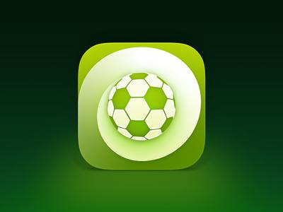 Football app icon football