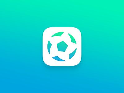 ZQKicon -football app ios icon football app