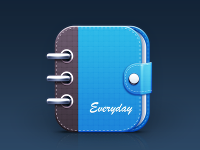 Notebook icon for EveryDay App book icon