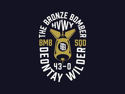 Deontay Wilder Practice Badge V2 merchandise merch branding design branding wilderfury2 fury tyson wilder deontay design badge logo