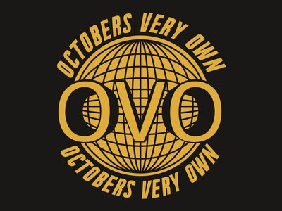 Octobers Very Own Practice Badge hip hop products branding merchandise merch logo badge
