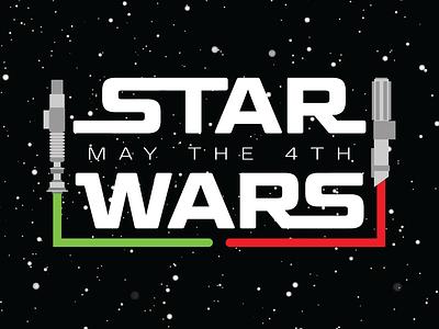 May the 4th - pt 1 disney maythe4th star wars vector branding design badge design brand merchandise branding merch graphic design badge