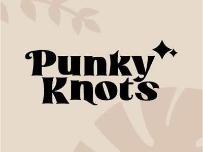 Punky Knots Rebrand brand logo adobe branding design badge design graphic design merchandise merch branding badge