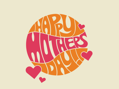 Happy Mothers Day! practice lettering branding design adobe merchandise graphic design brand logo branding merch badge
