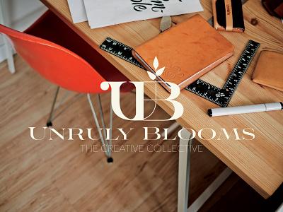 Unruly Blooms Branding Pt1 ui illustration design merchandise graphic design brand logo branding merch badge