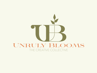 Unruly Blooms Branding Pt3 ui illustration design merchandise graphic design brand logo branding merch badge