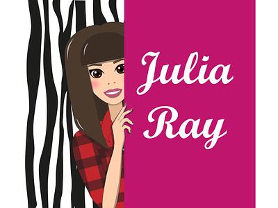 Logo for YouTube channel makeup hairstyle girl avatar illustrator icon logo flat vector illustration graphic design design art
