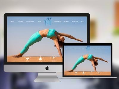 LILYFIT FITNESS APPLICATION lilyfit developer ruby on rails ror application app design app fitness club fitness app fitness