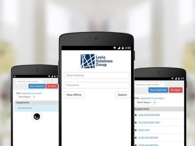 RHODAR EQUIPMENT APP equipment rhodar ror ruby on rails developer app design app application