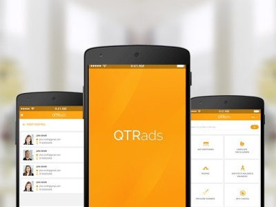 QTRADS APP ruby on rails developer app design ror application app qtrads