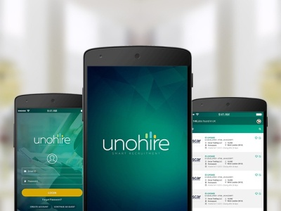 UNOHIRE APP ruby on rails developer ror app design application app unohire