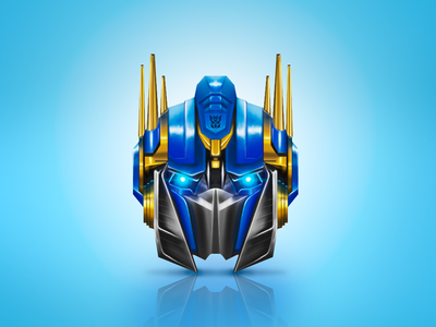 Optimus Prime icon icon transformer transformers robot optimus optimus prime illustration digital art