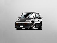 tiny AE86