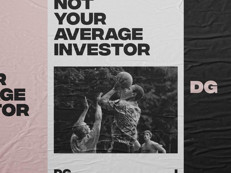 DGI ventures barack average investor venture venture capital poster identity design