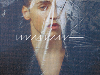 WWWAAAVVVEEE new album out now record music artist album cover album graphic design logo design logo