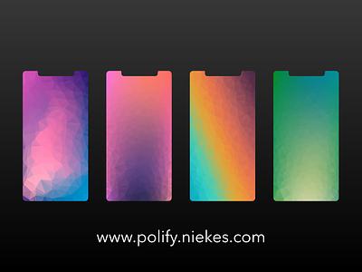 Low poly wallpaper | polify.niekes.com branding generative art illustration algoritm art abstract art abstract abstract background design background abstract wallpaper