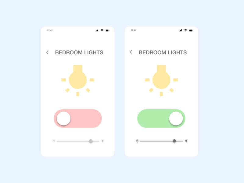 Daily UI - Day 15 (On/Off Switch)
