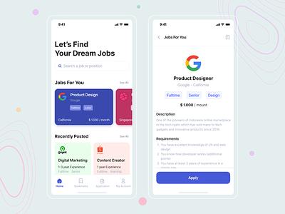 FinderJobs mobile app development appdevelopment app design android app development illustration design travel app mobile app design branding logo motion graphics graphic design 3d animation