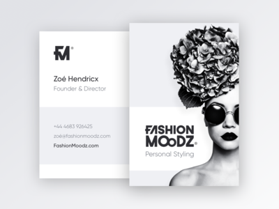 FashionMoodz® Business Cardz