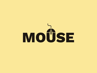 Mouse Logo mousepad mouse logo mouse logotype logodesign modern logo animation print design logo typography logo design brand identity brand design