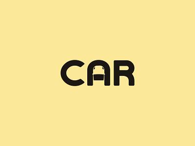 Car Logo lettermarklogo lettermark wordmark car logo car logodesign print design modern logo logotype logo typography logo design brand design