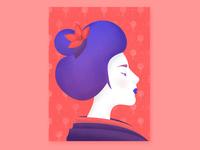 A geisha from Kyoto