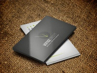 Business card mock up vc