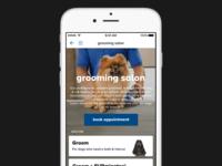 Grooming Landing Page